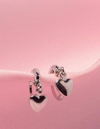 Сережки маленькі у вигляді сердець | 250798-05-XX - A-SHOP