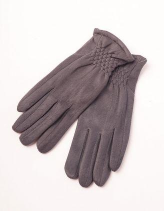 Рукавички теплі стьобані | 238967-28-07 - A-SHOP