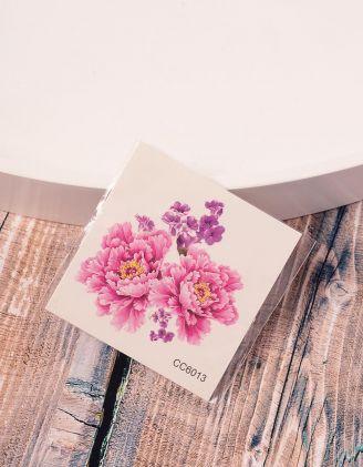 Тату тимчасове з квітами | 236375-17-XX - A-SHOP