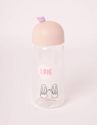 Пляшечка з принтом кроликів | 245565-22-XX - A-SHOP