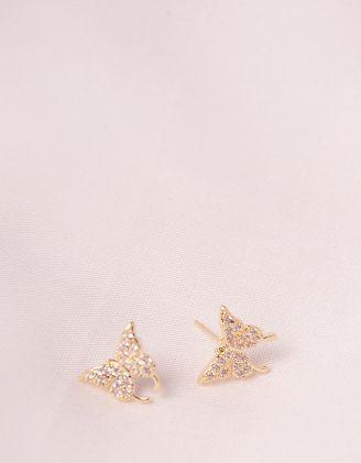 Сережки пусети у вигляді метеликів | 247092-08-XX - A-SHOP
