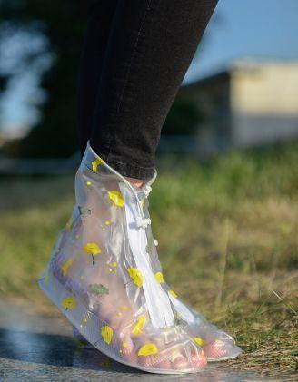 Чохли на взуття водонепроникні  з принтом | 235518-19-20