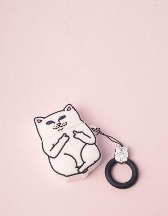 Чохол для навушників із зображенням кота | 246690-01-61 - A-SHOP