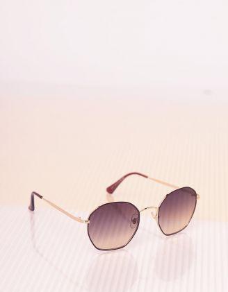 Окуляри сонцезахисні з тонкими дужками | 241618-12-XX - A-SHOP