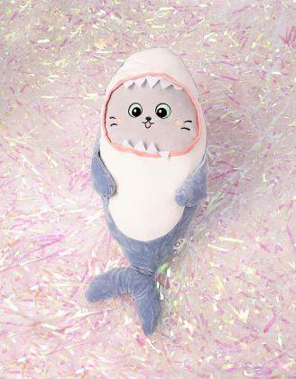 Іграшка м'яка у вигляді акули котика | 244494-31-XX - A-SHOP