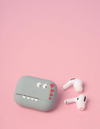 Навушники бездротові з принтом динозавра  на чохлі | 248706-20-XX - A-SHOP