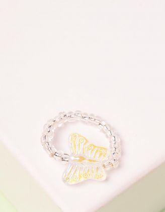 Кільце із намистин з метеликом | 245979-01-XX - A-SHOP