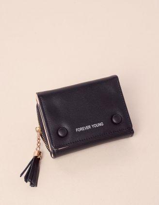 Гаманець портмоне з китицею та гудзиками | 240257-02-XX - A-SHOP