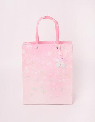 Пакет подарунковий з принтом квітів   244135-14-XX - A-SHOP