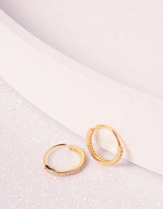 Сережки кільця | 240792-08-XX - A-SHOP