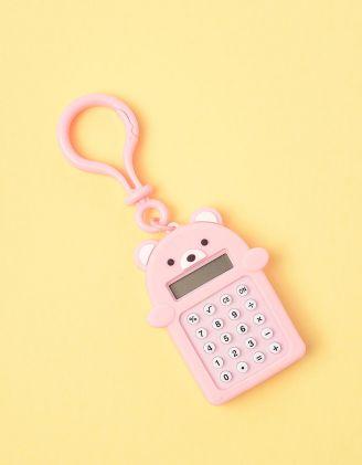 Калькулятор брелок у вигляді ведмедика з іграшкою лабіринтом | 247034-14-XX - A-SHOP