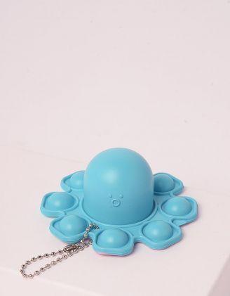 Іграшка антистрес pop it брелок у вигляді восьминога | 248968-18-XX - A-SHOP