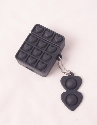 Чохол для навушників з серцями | 249290-02-61 - A-SHOP