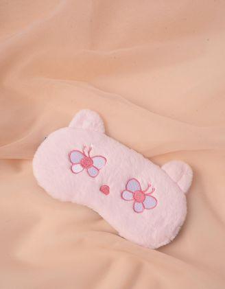 Пов'язка для сну у вигляді ведмедика з метеликами | 244701-14-XX - A-SHOP