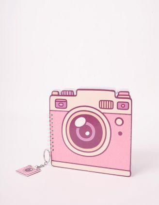 Блокнот з брелоком у вигляді фотоапарата | 242688-14-XX - A-SHOP