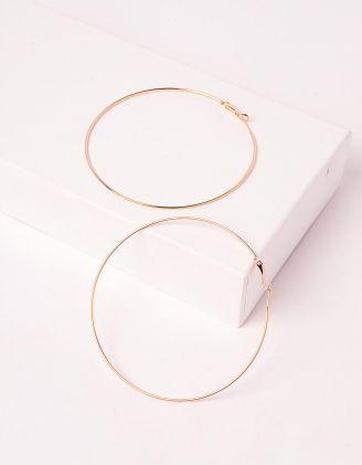 Сережки кільця великі | 237199-04-XX - A-SHOP