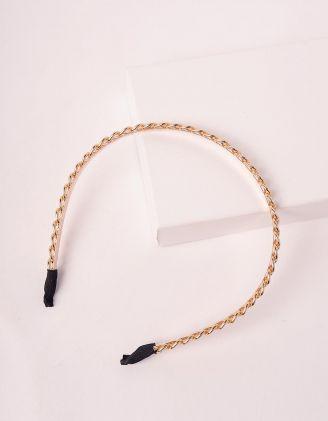Обідок для волосся у вигляді ланцюжка | 247535-04-XX - A-SHOP