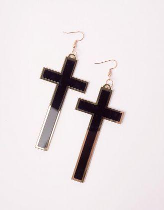 Сережки у вигляді хрестів   246247-09-XX - A-SHOP