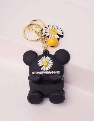 Брелок підставка для телефону у вигляді Міккі Мауса з ромашкою | 243417-02-XX - A-SHOP
