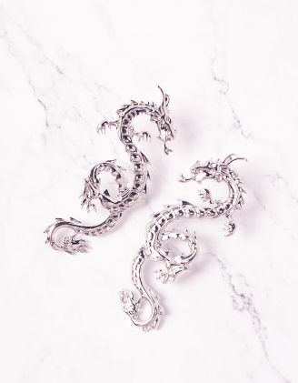 Сережки у вигляді дракона   243881-05-XX - A-SHOP