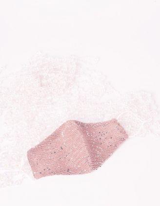 Маска на обличчя з паєткамм | 241909-14-XX - A-SHOP