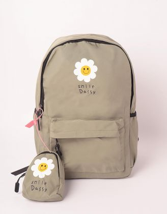Рюкзак для міста з ромашками | 248984-37-XX - A-SHOP