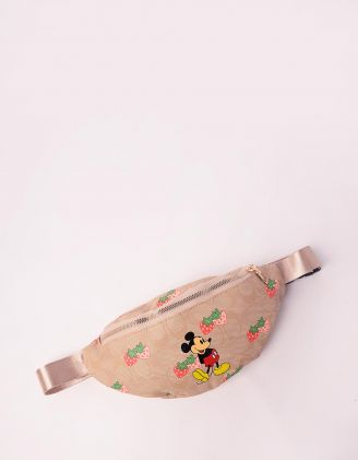 Сумка на пояс з принтом Міккі Мауса | 247156-22-XX - A-SHOP