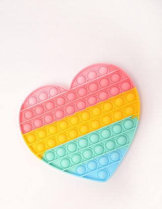 Іграшка антистрес pop it у формі серця | 249772-21-XX - A-SHOP