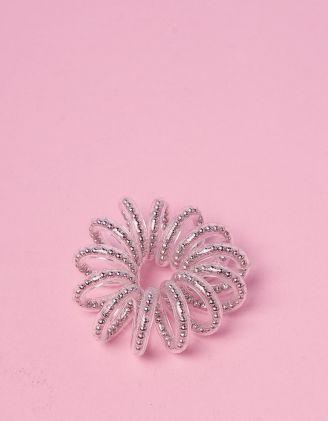 Резинка для волосся пружинка з кульками | 241704-05-XX - A-SHOP