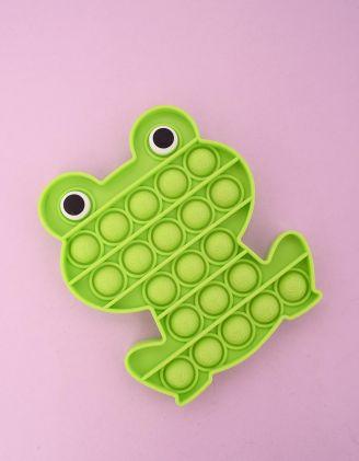 Іграшка антистрес pop it у вигляді жабки | 249769-37-XX - A-SHOP