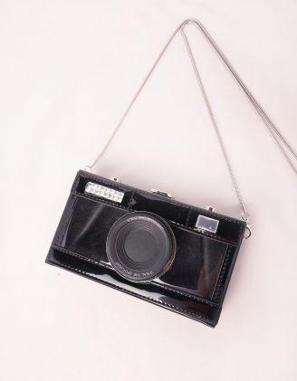 Сумка на довгому ремінці у вигляді фотоапарата | 245377-02-XX - A-SHOP