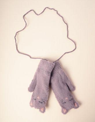 Рукавиці у вигляді кішки на мотузці | 235296-11-XX