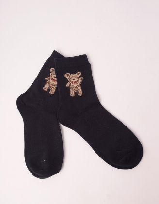 Шкарпетки з принтом ведмедиків | 249589-02-XX - A-SHOP