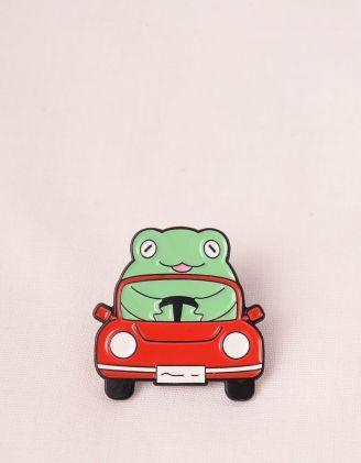Брошка у вигляді жаби у автомобілі | 249263-15-XX - A-SHOP