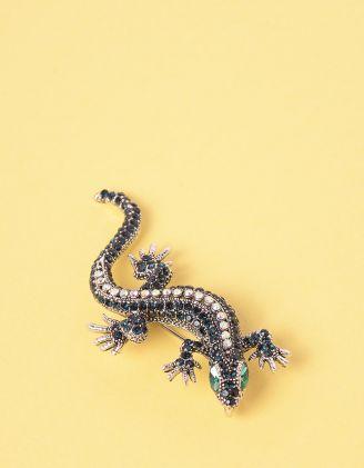 Брошка у вигляді ящірки | 246515-02-XX - A-SHOP