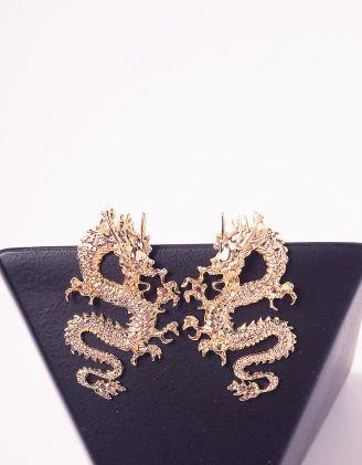 Сережки у вигляді драконів | 243882-04-XX - A-SHOP