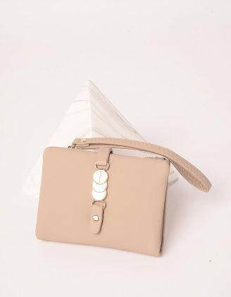 Гаманець портмоне з фурнітурою на застібці | 246037-22-XX - A-SHOP