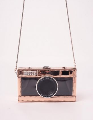 Сумка на довгому ремінці у вигляді фотоапарата | 245377-69-XX - A-SHOP