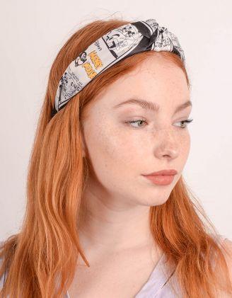 Обідок для волосся з принтом Міккі Мауса | 247419-02-XX - A-SHOP