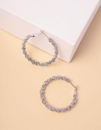 Сережки кільця | 245642-05-XX - A-SHOP