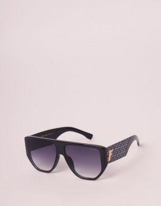 Окуляри сонцезахисні з орнаментом із літер на дужках | 246455-02-XX - A-SHOP