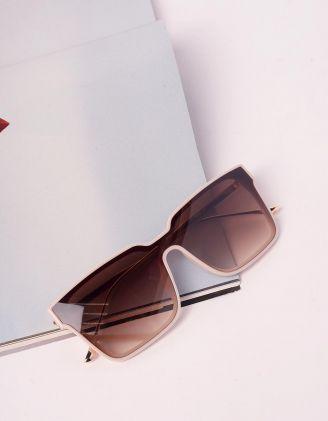 Окуляри сонцезахисні wayfarer з тонкими дужками   240680-22-XX