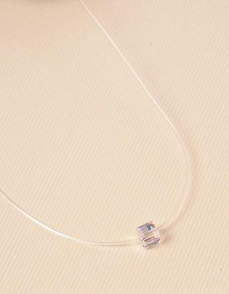 Підвіска з волосіні з кулоном у вигляді куба | 226146-06-XX - A-SHOP