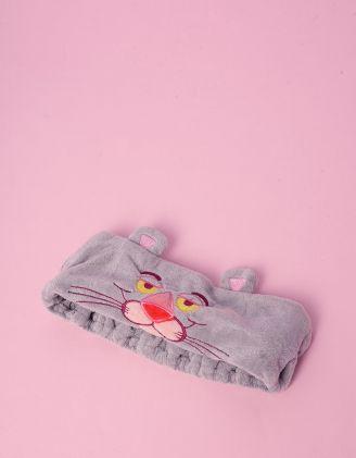 Пов'язка на голову з принтом рожевої пантери   239606-11-XX