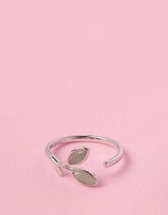 Кільце з листям | 246344-05-XX - A-SHOP