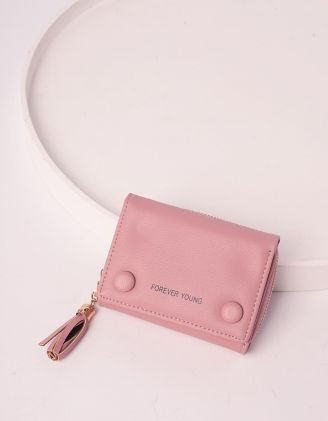 Гаманець портмоне з китицею та гудзиками | 240257-14-XX - A-SHOP