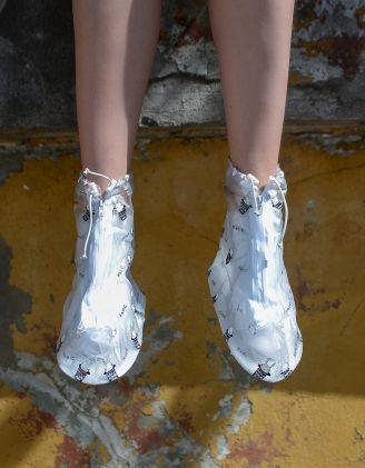 Чохли на взуття водонепроникні  з принтом | 235518-02-20