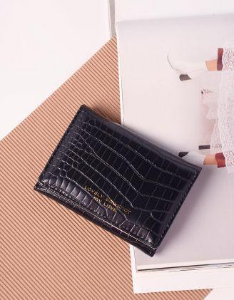 Гаманець портмоне під шкіру крокодила | 239645-02-XX - A-SHOP
