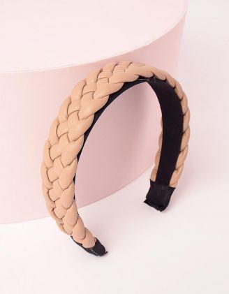Обідок для волосся плетений | 248733-22-XX - A-SHOP