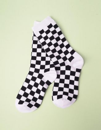 Шкарпетки у клітинку | 245396-01-XX - A-SHOP